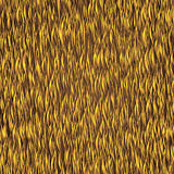 Yellow straw Stock Images