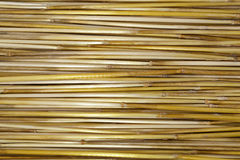 Yellow straw Royalty Free Stock Photography