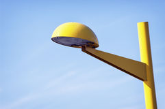 Yellow streetlamp Royalty Free Stock Photography
