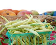 Yellow string bean Royalty Free Stock Photography