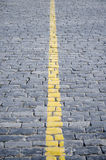 Yellow strip. Stock Photography