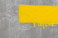 Yellow stripe Royalty Free Stock Image