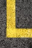 Yellow Stripe Royalty Free Stock Photo
