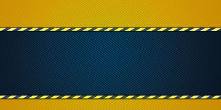 Yellow striped background Stock Photos
