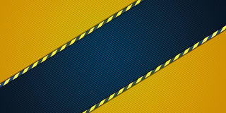 Yellow striped background Royalty Free Stock Photos