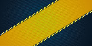 Yellow striped background Royalty Free Stock Photography