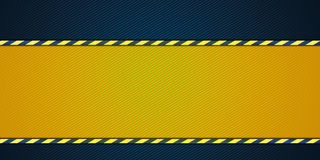Yellow striped background Royalty Free Stock Photo