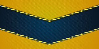 Yellow striped background Stock Photo
