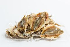 Free Yellow-striped Fish Selar On A Light Background Stock Photo - 136307120
