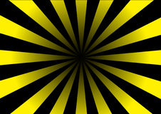 Yellow striped hole Stock Photography