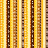 Yellow Striped Seamless Stock Images