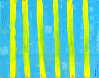 Yellow Stripes Stock Photography