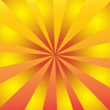 Yellow stripes background.For art texture or web design. Stock Photos