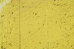 Yellow stucco Royalty Free Stock Photography