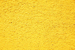 Yellow stucco texture Royalty Free Stock Images