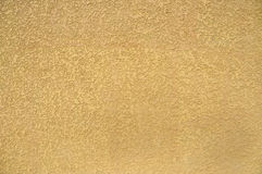 Yellow Stucco Wall Background Royalty Free Stock Photography