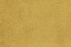 Yellow stucco wall. Background. Stock Images