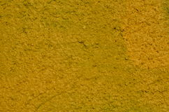 Yellow stucco Stock Images
