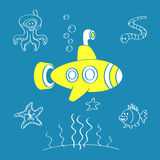 Yellow Submarine Stock Photos