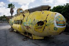 Yellow submarine Stock Photos