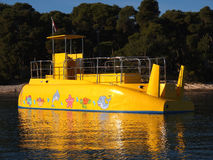 Yellow submarine Royalty Free Stock Photography