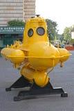 Yellow Submarine Monaco Royalty Free Stock Photography