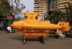 Yellow submarine Royalty Free Stock Images