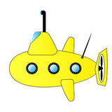 Yellow submarine 01 Stock Images
