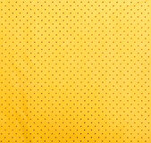 Yellow suede texture Royalty Free Stock Photo