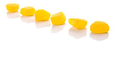 Yellow Sugar Jelly Candy III Stock Images