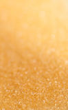 Yellow Sugar Sparkle Background Royalty Free Stock Images