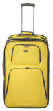 Yellow suitcase Stock Photos