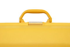 Yellow suitcase Royalty Free Stock Images