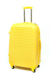 Yellow suitcase Royalty Free Stock Photography