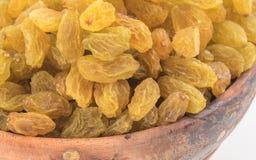 Yellow sultanas raisins Royalty Free Stock Photography