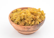 Yellow sultanas raisins Royalty Free Stock Images