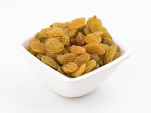 Yellow sultanas raisins Royalty Free Stock Photo