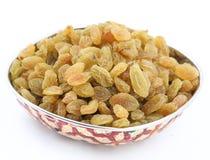 Yellow sultanas raisins Stock Images