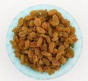 Yellow sultanas raisins Stock Photography