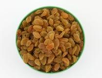 Yellow sultanas raisins Stock Photos