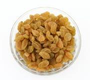 Yellow sultanas raisins Royalty Free Stock Image