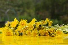 Yellow summer Stock Photo