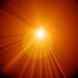 Yellow sun Stock Image