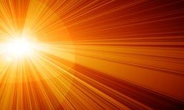 Yellow sun Royalty Free Stock Photo