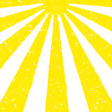 Yellow Sun background Stock Images