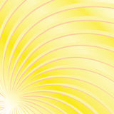Yellow Sun beams. Background with yellow sun beams stock illustration
