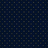 Yellow sun and crescent moon minimal seamless pattern on dark night. royalty free illustration
