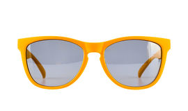 Yellow sun glasses isolated Royalty Free Stock Photography