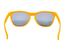 Yellow sun glasses isolated Royalty Free Stock Photos