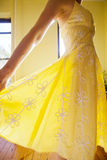 Yellow Sundress Stock Images